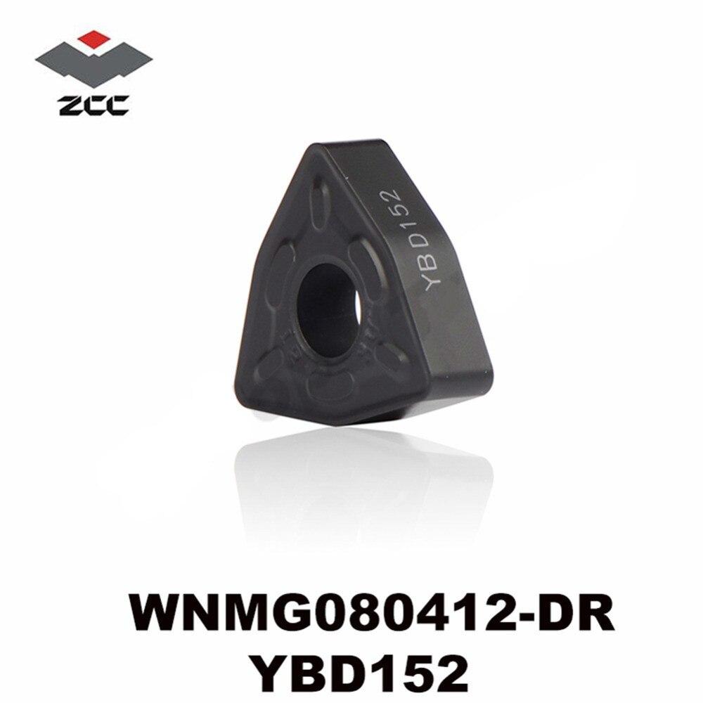 10pcs ZCC.CT WNMG080408-DR YBC252