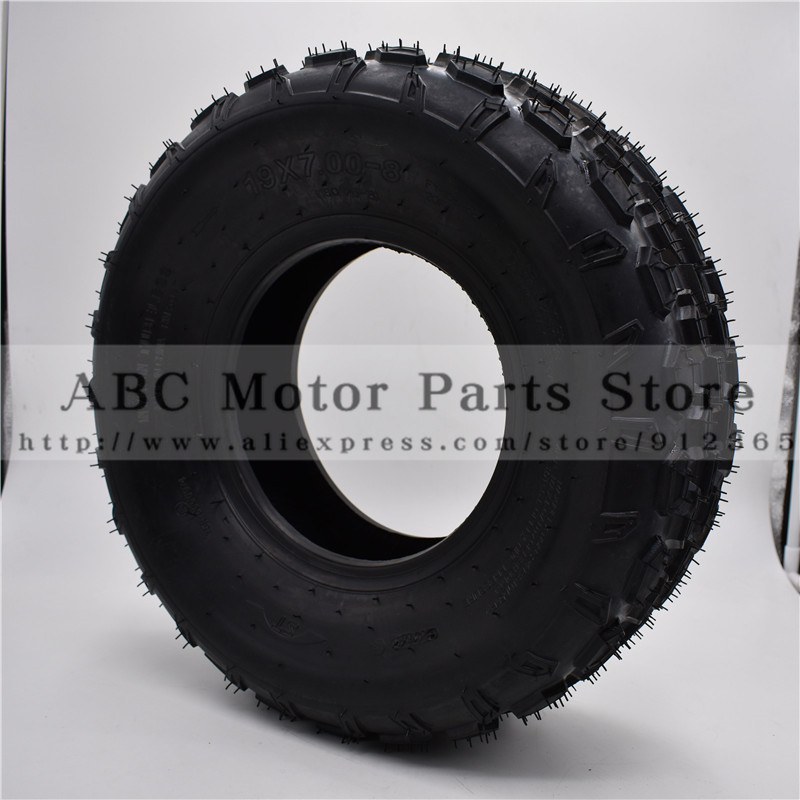 19x7.00-8 Atv 8 Inch Tire Four Wheel Vehcile Motorcycle Fit For 50cc 70cc 110cc 125cc Small Atv Front Rear Wheels Kayo Chinese Cheap Sales 50% Automobiles & Motorcycles Atv Parts & Accessories