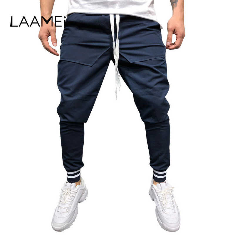 e2553e41601 Detail Feedback Questions about Laamei Black Blue Mens Gym Slim Fit ...