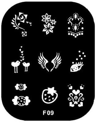 Nail Stamping Plates Konad Stamping Nail Art Stamp Nails Styling