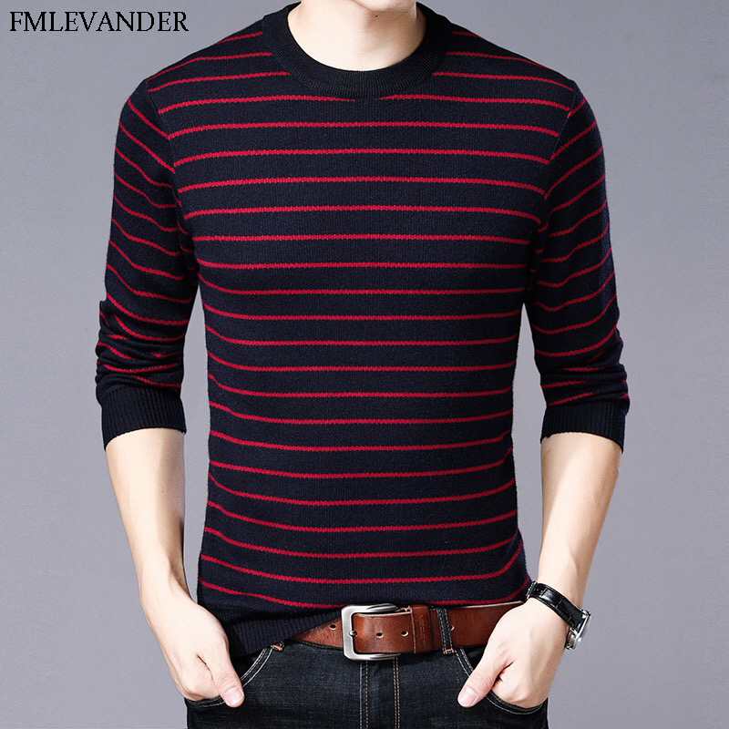 Menswear Ropa De Hombre 2018 O-neck Plus Size 3XL Thick Warm Sweater Men