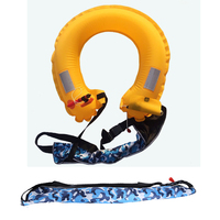 Amalibay Waist Band Automatic Water Life Vest Professional Fishing Life Jackets Inflatable Swimming Jackets for Adults