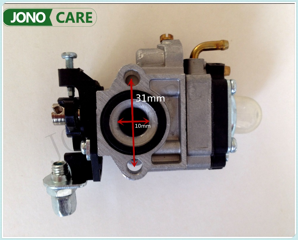 Replacement Parts New Carburetor for 1E34F CG260 BC260 26CC Chinese Small Gasoline Brush Cutter Grass Trimmer Engine Parts bc260 26cc brush cutter cylinder kit with piston assy piston ring for cg260 grass trimmer 1e34f 34mm engine parts