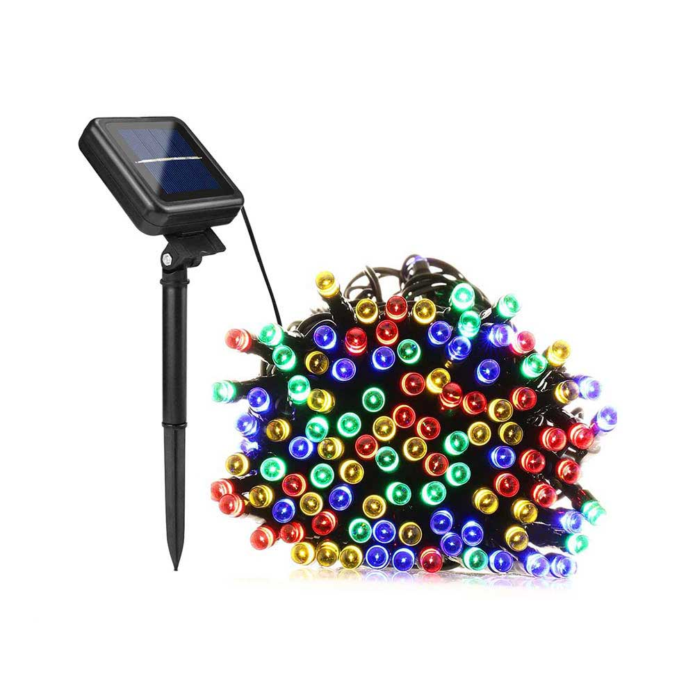 50 100 200 LED Solar Powered Lighty Strip Light untuk Xmas Festival - Pencahayaan luar