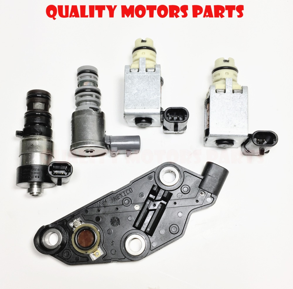 US $81 2 14% OFF|5pc Brand 4T65E Transmission Solenoid Kit Set Tcc shift  epc for Chevrolet Buick Oldsmobile Pontiac Volvo 2003 UP-in Automatic