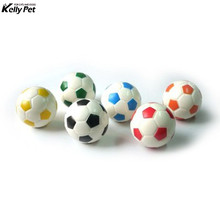 New Style Small Football Basketball Squeaky Ball Puppy Pet Dog Chew Bite Sound Play Toy SPchien hond arnes perro