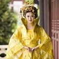 Dinastía Tang ropa Royal Han Tang princesa emperatriz señora reina del traje precioso la cola del traje cosplay