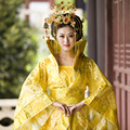 Tang Dynasty Royal clothing Han Tang Princess empress  Lady Queen Costume gorgeous tail cosplay costume
