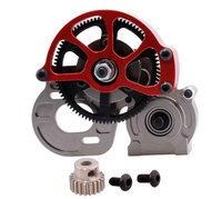 Free Shipping Metal Hydraulic Transmission Box For Axial SCX10 RC Car AX30487 Upgrade Spare Parts