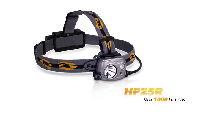 Fenix HP25R Dual Cree LED W 18650 Battery USB Rechargeable Headlamp Flashlight fenix hp25r 1000 lumen headlamp rechargeable led flashlight