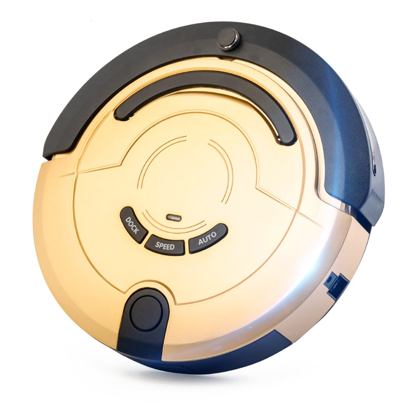 Promotion smart dry and wet robot vacuum cleaner with 300ml water tank and lithium battery in good quality with water tank 300ml intelligent d5501 robot vacuum cleaner with 180ml water tank 2 suction nozzle powerful wet