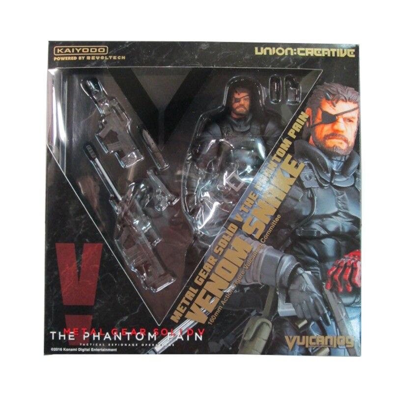 Metal Gear Solid V Phantom Pain VENOM SNAKE Figure Revoltech Kaiyodo Verison Toy