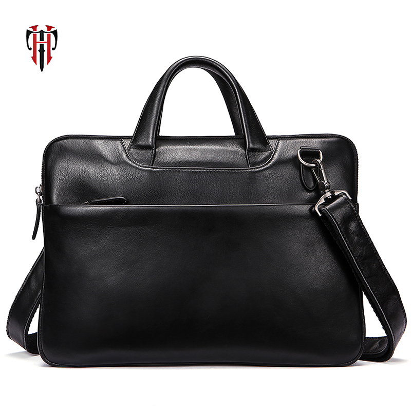 TIANHOO Fashion business briefcase genuine leather man bags for work crossbody shoulder & hand bag men totes hence hoson genuine leather man fashion bag for men shoulder bags new arrival fashion crossbody bags free shipping z0679