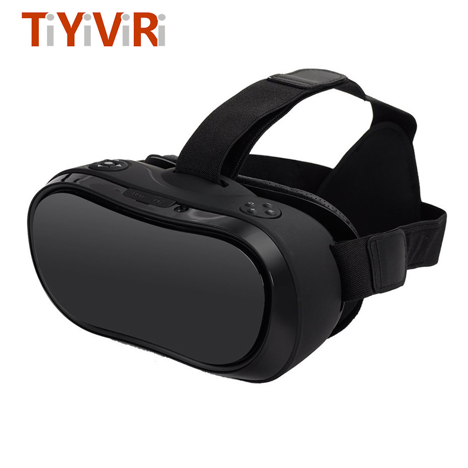 VR All In One Virtual PC Glasses Virtual Reality Goggles 3D Headset VR Box for PS4 Xbox one Game Console 2560*1440 Android 5.1 3d vr box virtual reality goggles h2 android 2560 1440p all in one vr glasses helmet video movie game wireless bluetooth gamepad