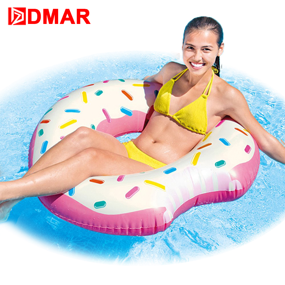 Swimming Rings Isf 150cm Summer Party Swim Pool Floats Donut Air Mattress Inflatable Clircle Pool Float Toys Swimming Ring For Adult Kids
