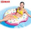 DMAR 107 cm 42 pulgadas inflables anillo de natación gigante piscina flotador agua juguetes inflables colchón para niños adultos playa mar partido