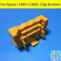 1 PC Resetter Chip Para Epson 11880 Cartucho de Tinta Recarregáveis
