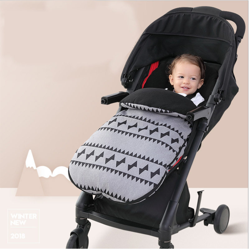 Bébé Panier Sac De Couchage sacs de Sommeil D'hiver Robe Chaude Pour Enveloppes pour Les Nouveau-nés Infantile Fauteuil Roulant Informations