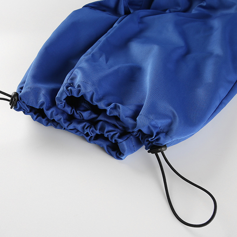 Alta Mujer Harajuku Hebilla Hop Las Chicas La Azul Estilo Moda Pantalones Cintura Calle Mujeres Jogger Pantacourt Militar De Hip Twq4PP