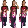 2017 Venda Apressado Vestidos Africanos Vestidos África Tradicional Africano Bazin Riche Algodão Poliéster New Sexy Roupas Femininas