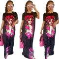 2017 Venta Rushed Vestidos Vestidos Tradicionales de África Africano Bazin Riche Africano Algodón Poliéster Nueva Sexy Ropa de Las Mujeres
