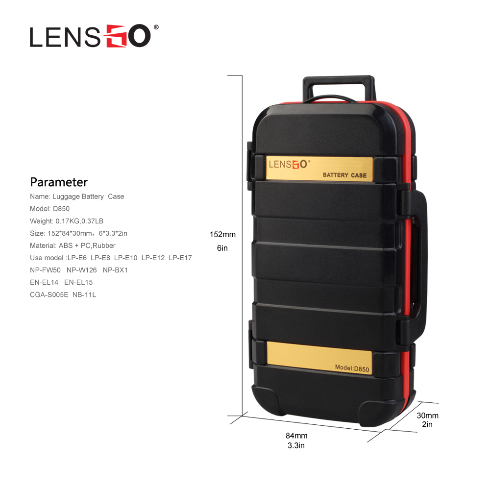 Waterproof Memory Card Case Battery Storage SD Memory Card Cases Box Storage Holder Box Cover for 2 Camera Batteries 2CF 2XQD