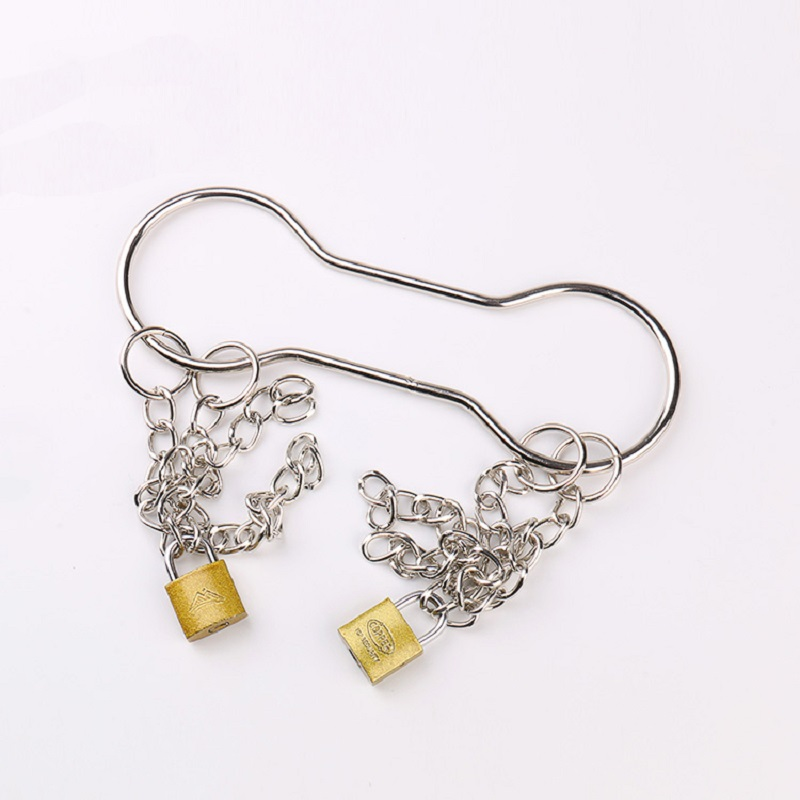 Handcuffs escaping from chains escape handcuffs with locks magic tricks props