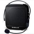 18 Watts de Alta Potência portátil mini Alto-falantes Do Microfone amplificador de Áudio Guia Turístico Da sala de aula discurso Megafone SD-S512