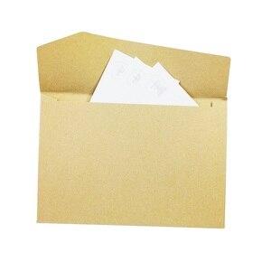 Image 5 - 100Pcs/lot  Vintage Kraft Paper Envelopes  Europen Style  Envelope Message Card Letter Stationary Storage Paper Gift 170*120mm