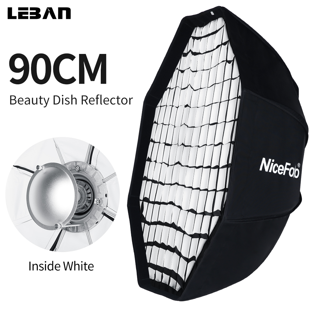 37 Octagon Honeycomb Grid Softbox With Flash Mounting For: 90cm White Beauty Dish With Honeycomb Grid Studio Flash