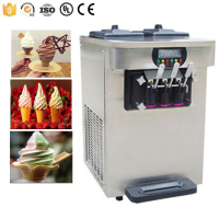 Commercial and Family Use Table Top Counter Mini Ice Cream machine