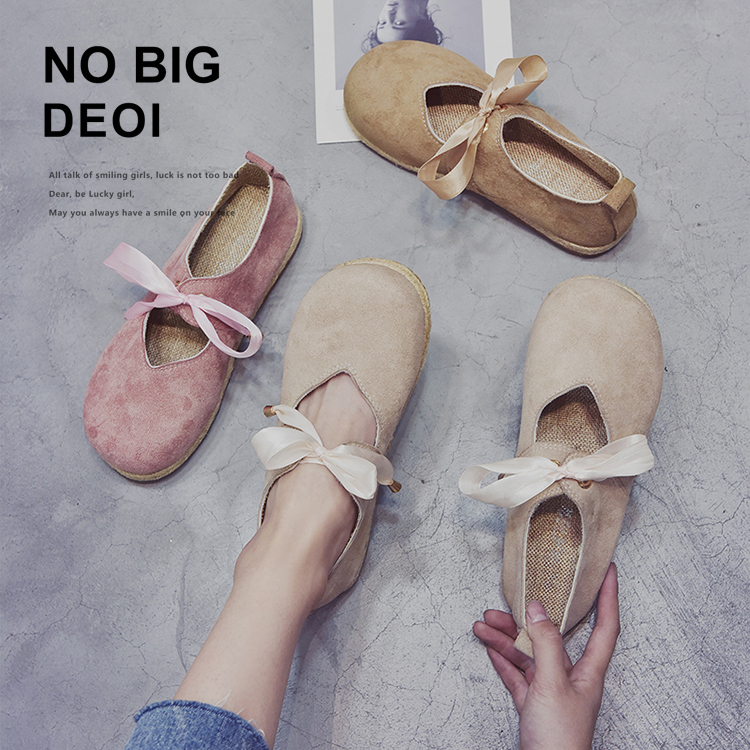 New Mori Girl Japanese Mary Jane Spring And Autumn Single Shoes Round Head College Style Literary Retro Flat Women's Shoes
