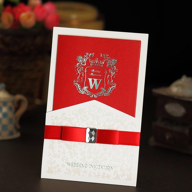 Us 33 3 26 Off High Quality 2019 Design Wedding Cards Decoration Engagement Wedding Invitations Elegant Luxury Wedding Invitation Card 50pcs In