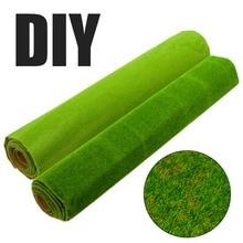 3 Colors Miniature Garden Artificial Grass Lawn Turf Mat Landscape Decoration DIY Garden Decor Mayitr