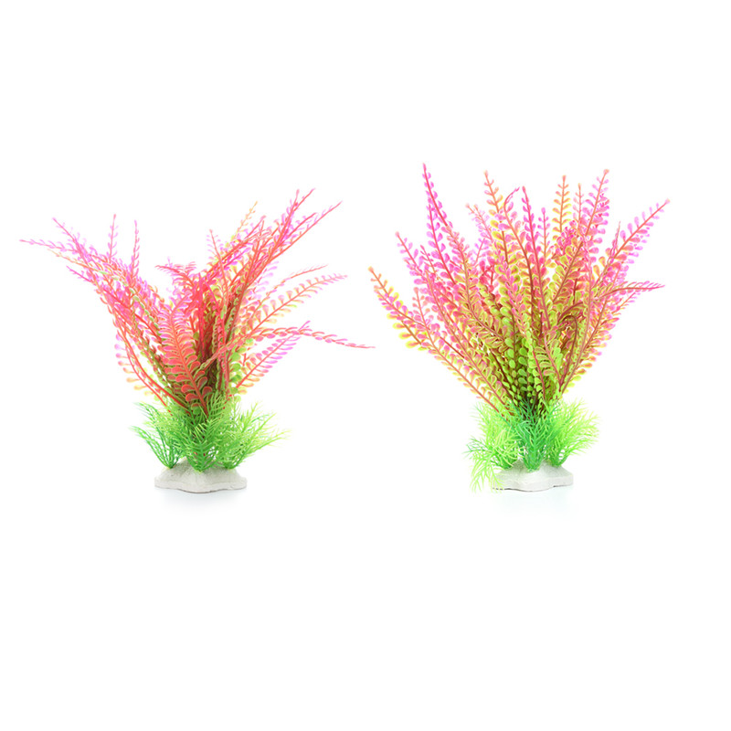 Artificial simulation ornamental plants aquatic scenery for Fake pond plants