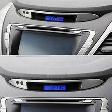 Coche-estilismo para el panel de mandos trim accesorios automotrices íntimo accesorios para Hyundai Elantra 2012, 2013, 2014, 2015, 2016