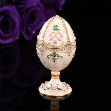 QIFU Pure and romantic faberge egg wedding decoration