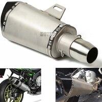 36 51 мм выхлопной трубы Escape мотоцикл выхлопной изменение муфельные трубы для Honda CBR 250 600 900 929 954 1000 RR CBR1100XX CB650F