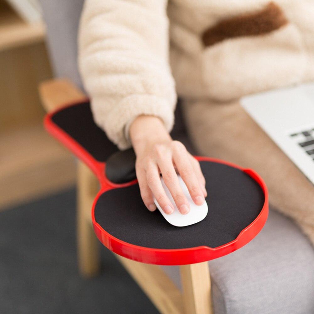 Gmilli bureau/chaise PC ergonomique Support de bras en mousse à mémoire et repose-poignet tapis de souris tapis Extender en Premium réglable - 3