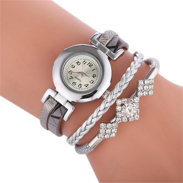 2018 Diamond bracelet watch ladies watches quartz watch Fashion relogio feminino