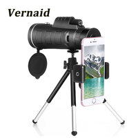 High Quality Monocular 40x60 Powerful Telescope Great Handheld Military HD Professional Spotting Scope For Outdoor Hunting