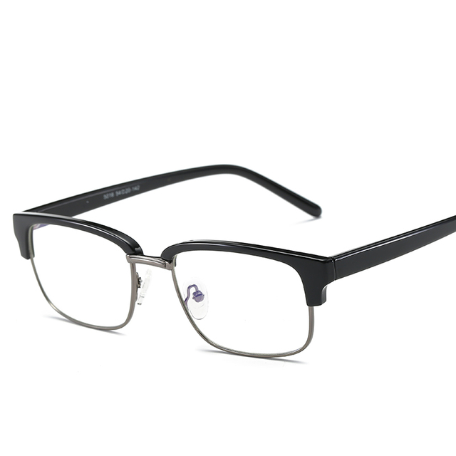 f7cc10ee65b TR90 Anti Blue-Ray Eyeglasses Clear Lens Square Glasses Frame Protection Eyewear  Frames Myopia Computer