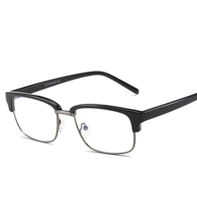 TR90 Anti Blue-Ray Eyeglasses Clear Lens Square Glasses Frame Protection Eyewear Frames Myopia Computer Glasses For Women Men