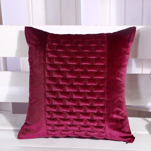 Бесплатная доставка 6 цветов 1 шт. 45 см Чехлы для подушек и Наволочки для офиса стул Подушки диван Пледы Подушки Детские lwl004