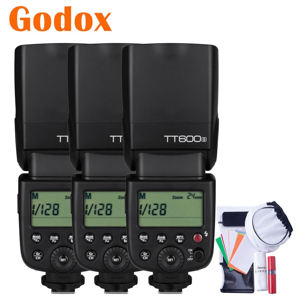 Godox TT600S 2 4G HSS Wireless Speedlite Camera Flash Speedflash for Sony A68 A99 A7S A7RIII