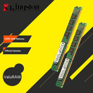 Original Kingston Memoria RAM 1600MHz DDR3 (PC3-12800) 240 Pin 2GB 4GB 8GB Intel DIMM Motherboard Memory For Desktop PC