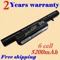 JIGU NEW 6 Cell  Laptop Notebook battery Bateria for Clevo C4500 C4500Q C4501 C4505 W150 C4500BAT-6 6-87-C480S-4P4 KB15030