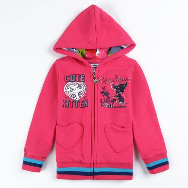 9703f5051 zipper kids hoodies children s wear jacket new year Sweatshirts for ...