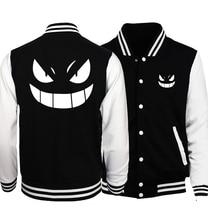 Anime one piece spring jacket mens 2017 new fashion Naruto brand clothing baseball uniform sweatshirts man's tracksuit hoodies