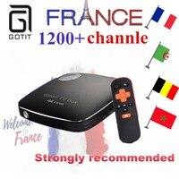 NEW CSA96+NEOPlus French IPTV Arabic Tunisia Morocco Germany Portugal IPTV VOD 4G 32G Android 6.0 Smart Netflix TV Box
